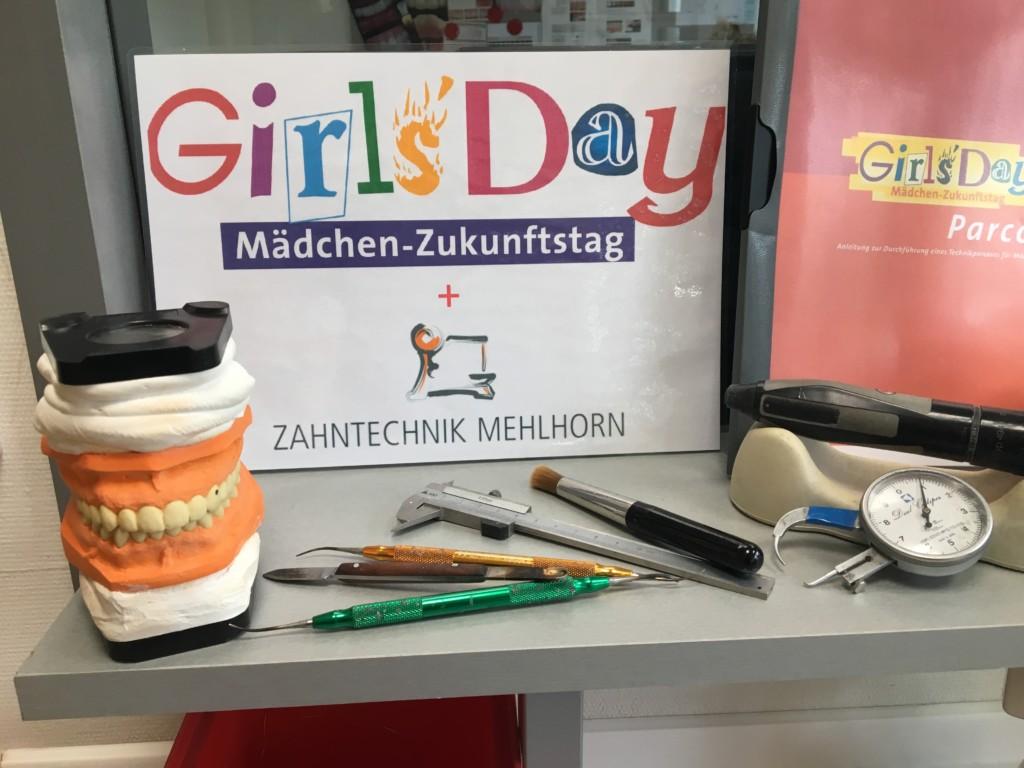 Girls Day bei Zahntechnik Mehlhorn